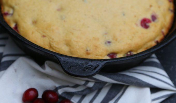 Spicy Cranberry Cornbread