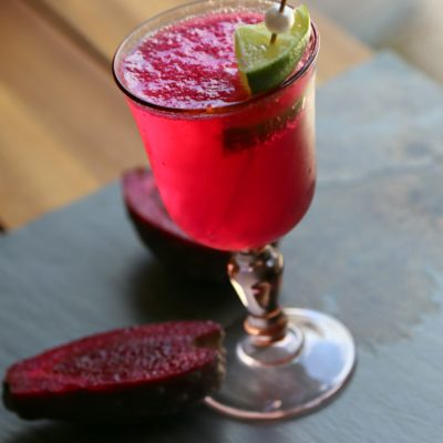 Prickly Pear Champagne Punch