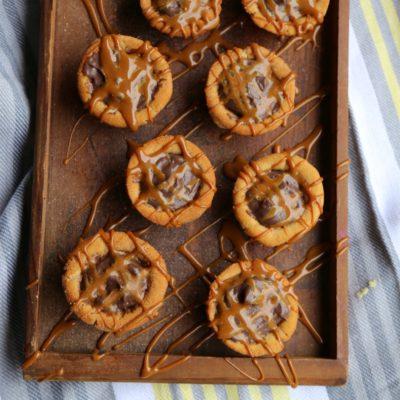 Chocolate Churro Cookie Cups