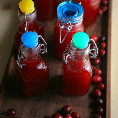 Cranberry Infused Vodka