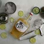 Coriander Lime Martinez Cocktail