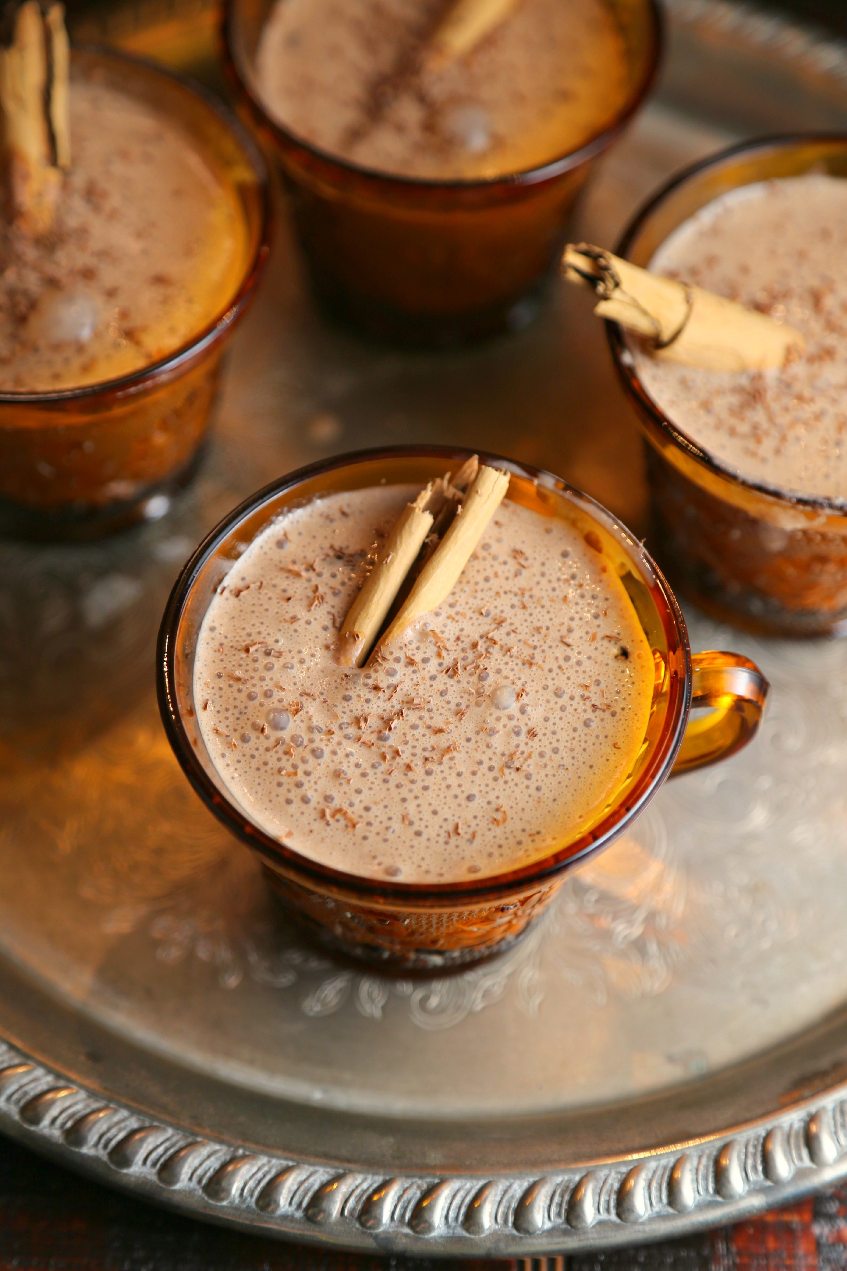 Chocolate Rompope - Mexican Eggnog - Sweet Life