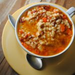 Chipotle Chicken Barley Soup
