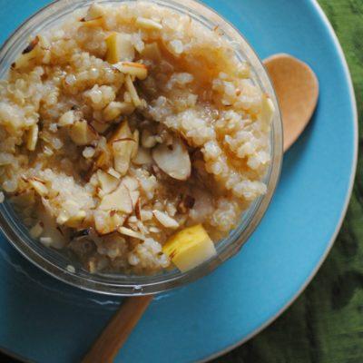 Amaranth Atole with Pears (Atole de Amaranth con Peras)