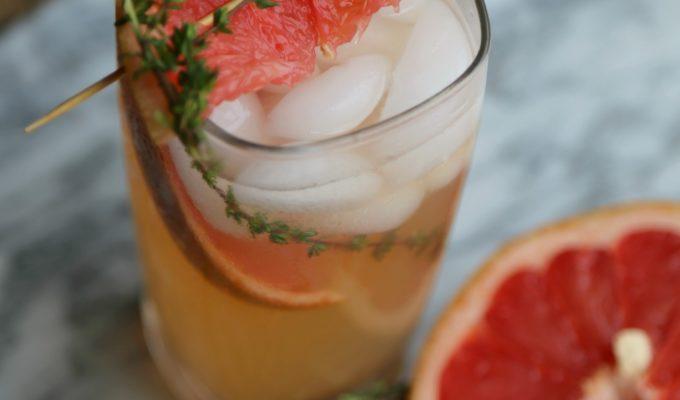 Grapefruit Thyme Mocktail