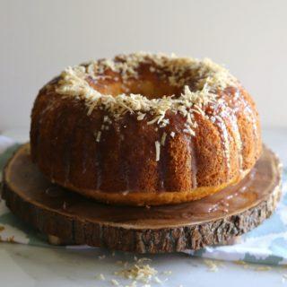 Hibiscus Coconut Bundt Cake