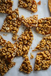 Quick and Easy Honey Nut Cheerios™ Brittle