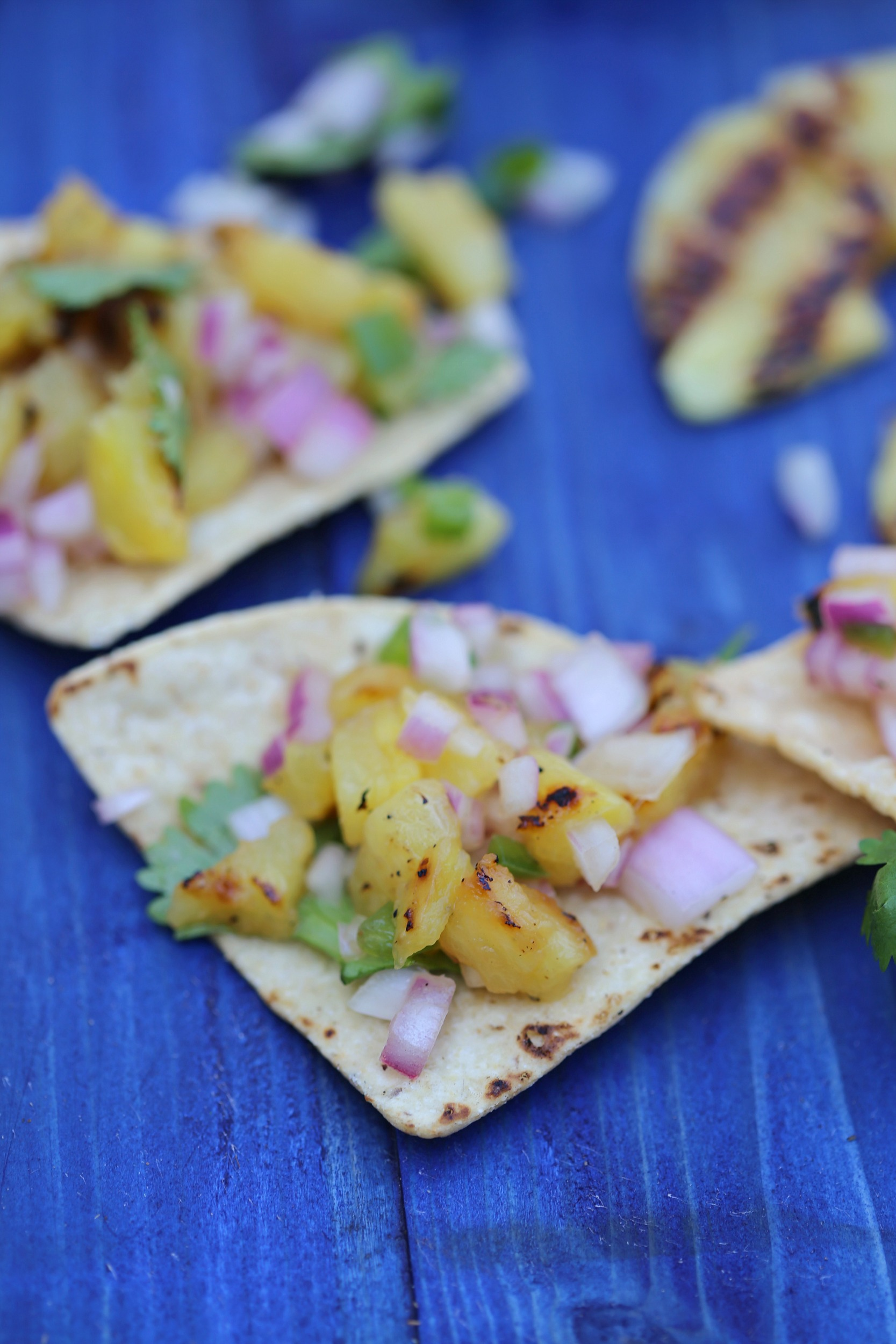 Grilled Pineapple Salsa - Sweet Life