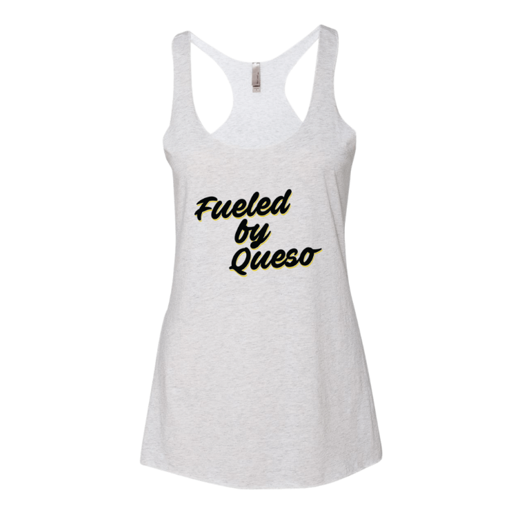 Fueled by Queso Black / Yellow Graphic Tank Top
