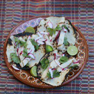 Chipotle Citrus Chicken Fajita Tacos