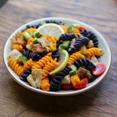 Halloween Pasta Salad {Applegate Giveaway}