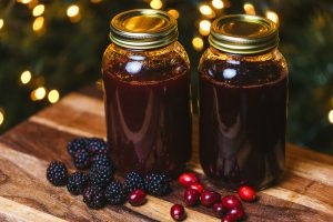 Homemade Margarita Mix – Cranberry & Four Berry
