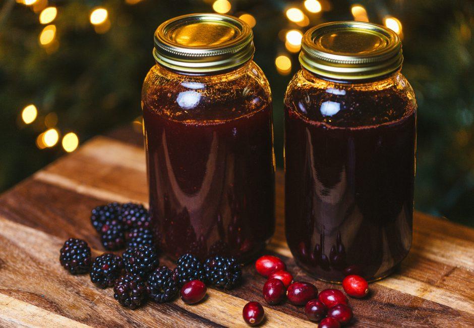 Homemade Margarita Mix – Cranberry & Four Berry