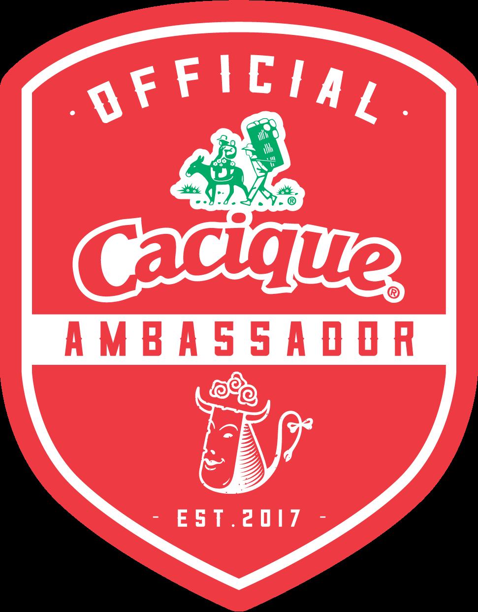 Cacique Blogger Ambassador