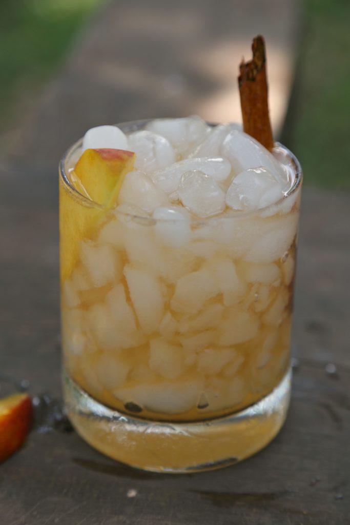 Peach Brandy Old Fashioned