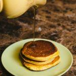 Rompope Pancakes {Mexican Eggnog Pancakes}