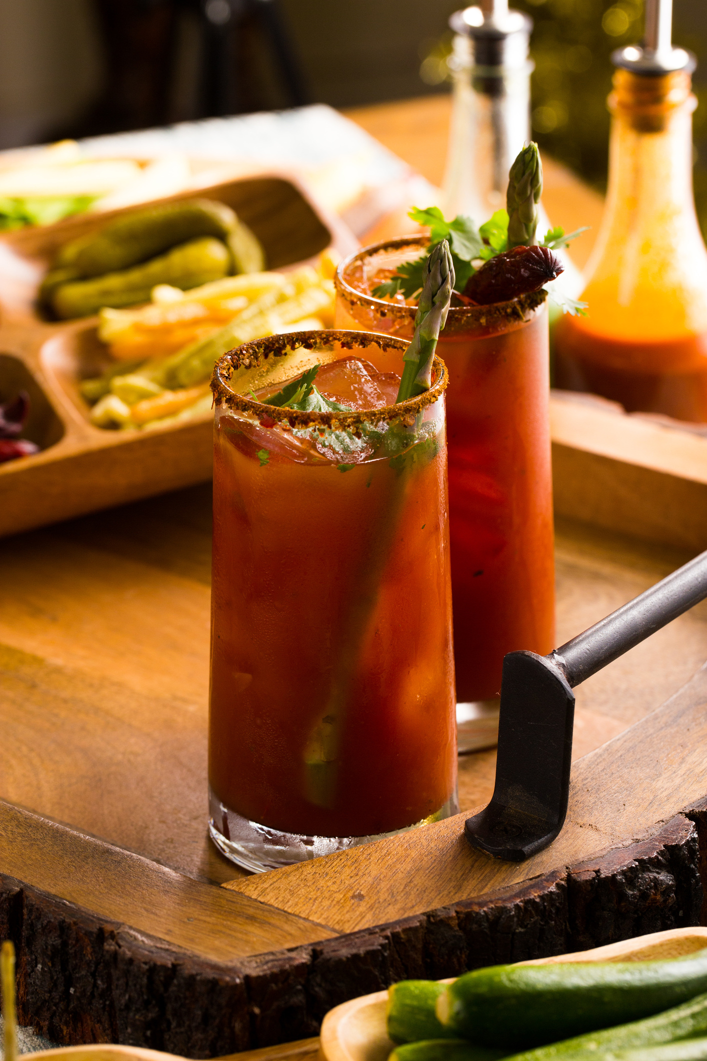 Diy Bloody Mary Bar Spicy Bloody Mary Recipe Video Sweet Life