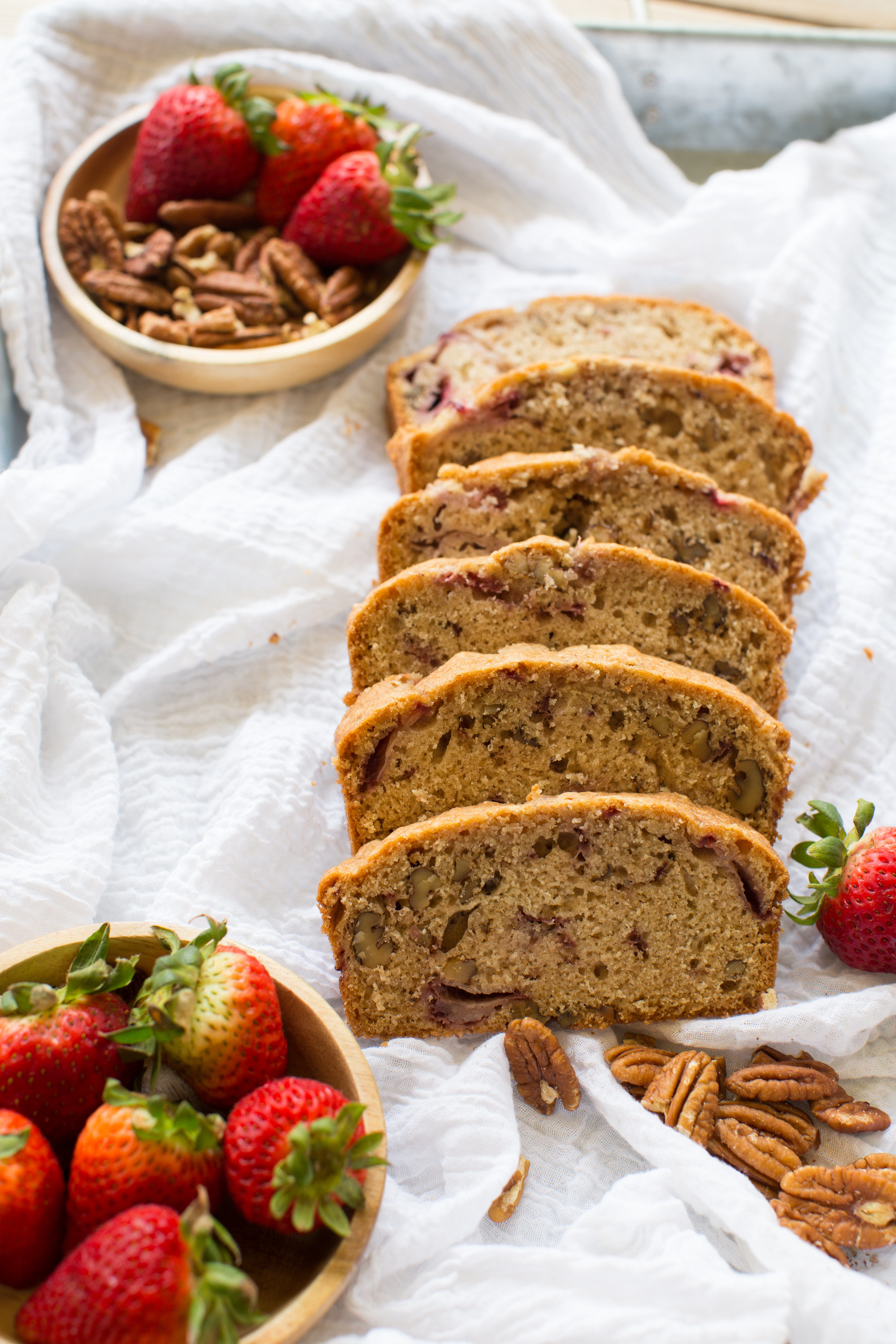 Strawberry Pecan Bread - Sweet Life