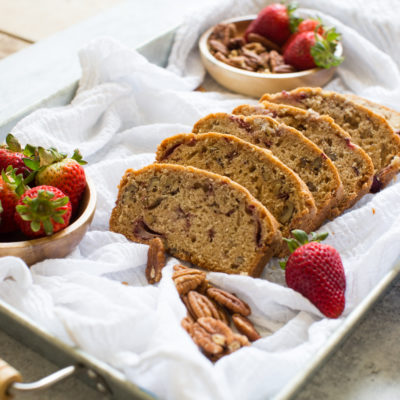 Strawberry Pecan Bread