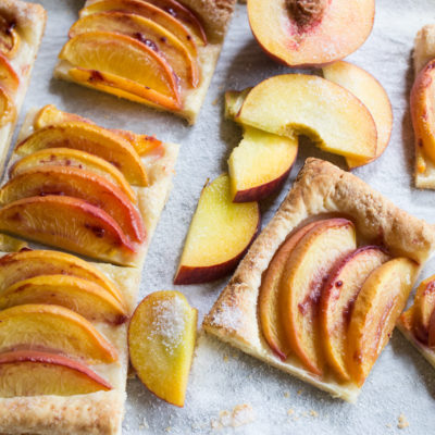 5-Ingredient Fresh Peach Tart