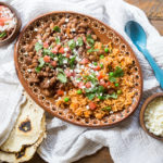 How to make Arroz y Frijoles
