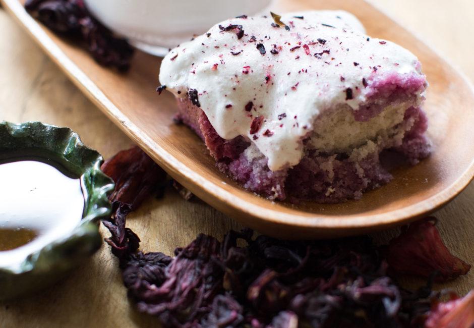 Easy Hibiscus Tres Leches Cake