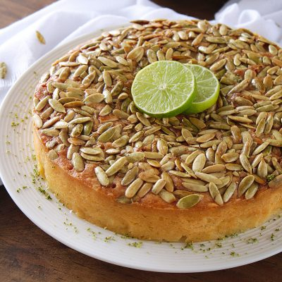 Easy Key Lime Cake with Pepitas