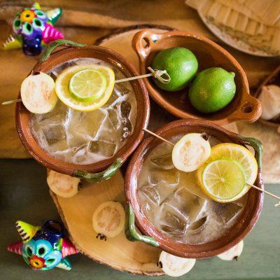 Guava Cazuela Margaritas
