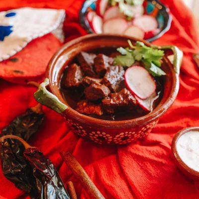 Ancho-Guajillo Short Rib Chili