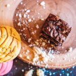 CONCHA BROWNIES – ONE BOWL BROWNIES