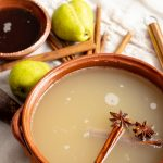 Spiced Pear Mezcal Punch