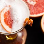 Ruby Red Grapefruit Tequila Sour