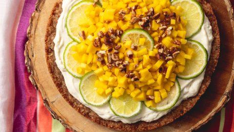 Mango Pecan Tart