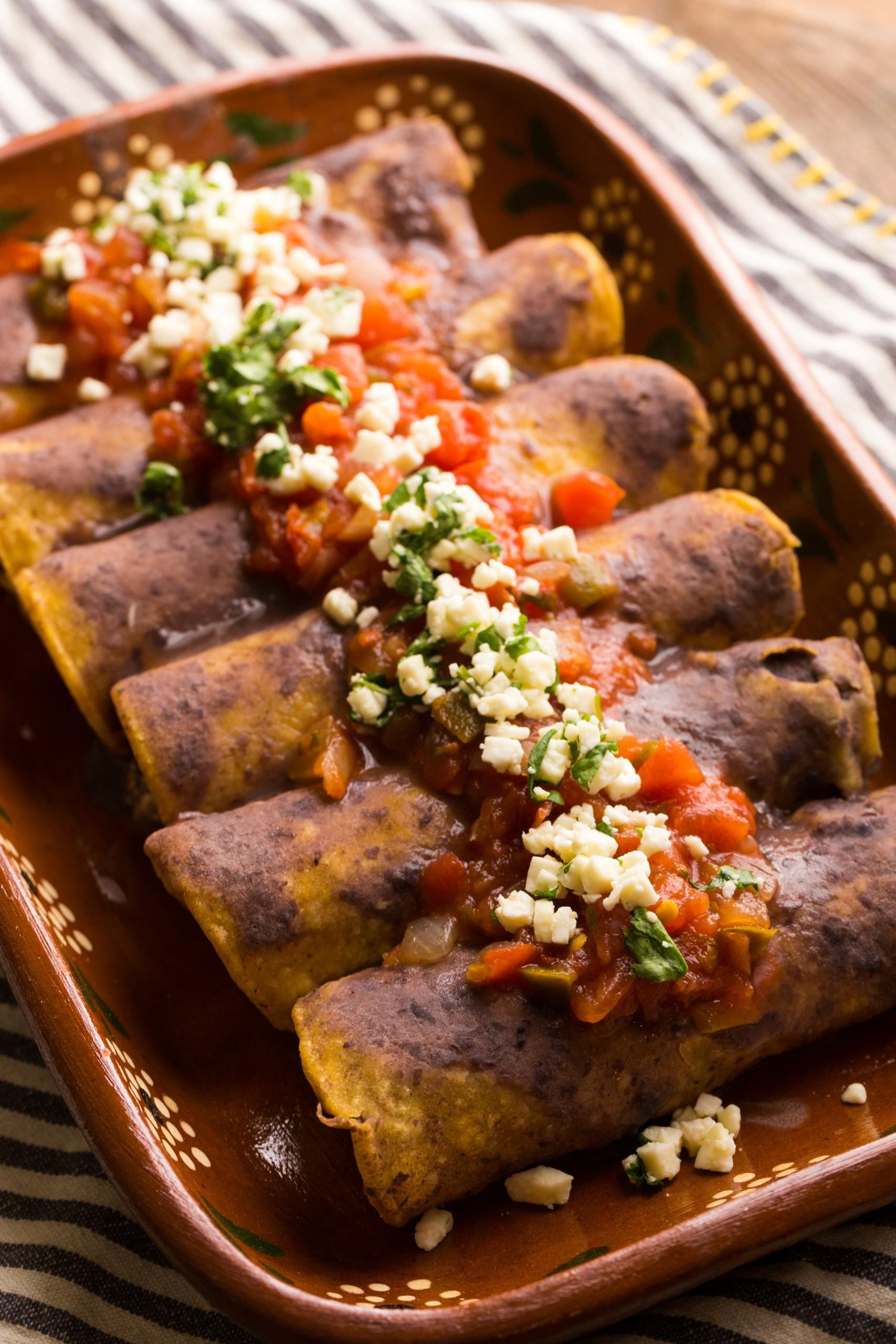 black bean breakfast enchilada recipe