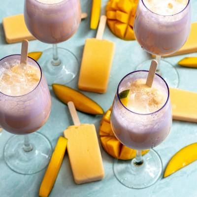 Mango Coconut Paleta Mocktail