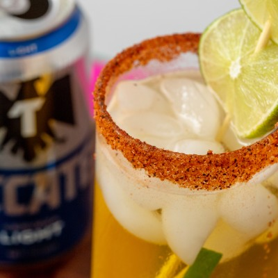 MANGO MICHELADA {Mexican Beer-Based Cocktail}