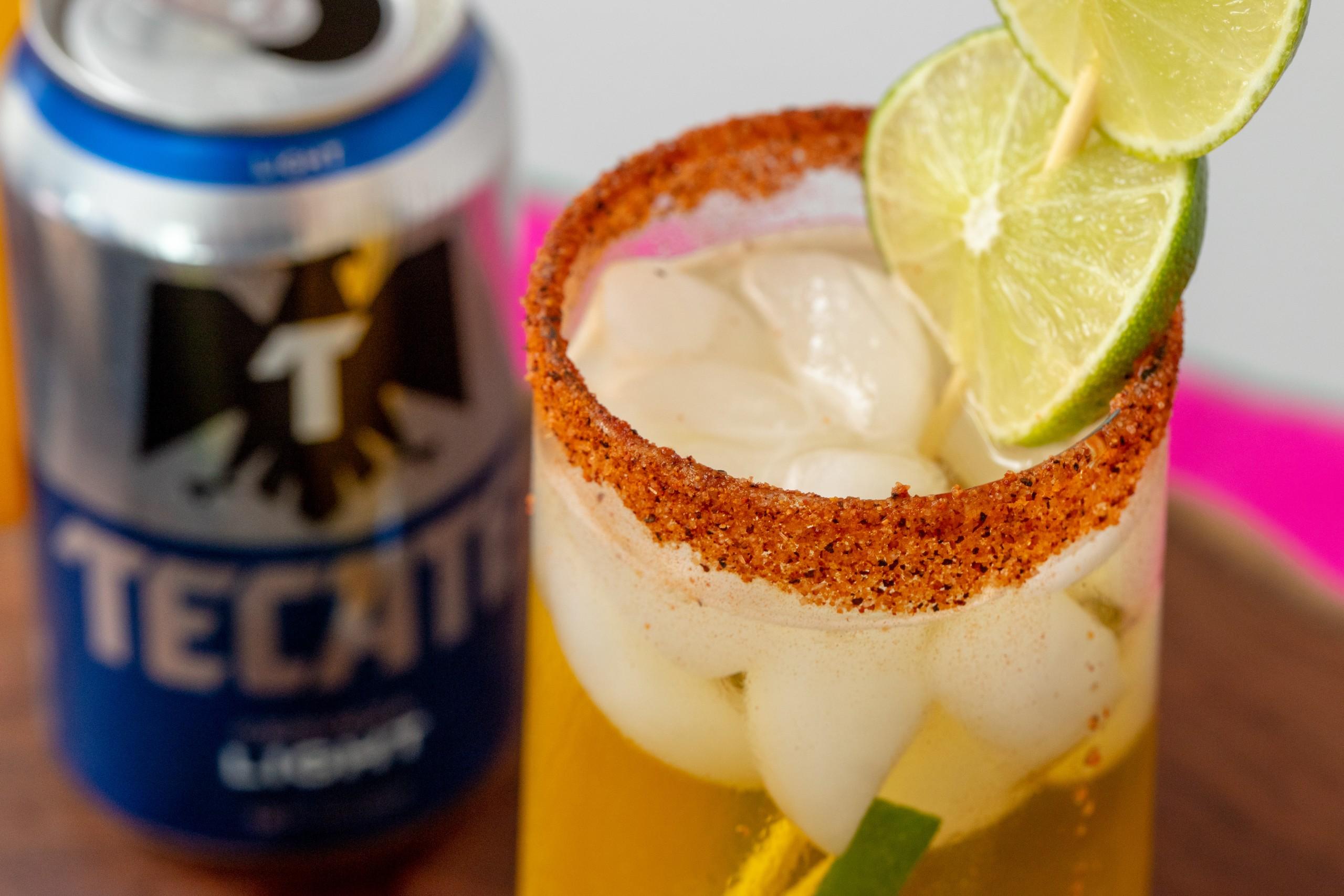 chile salt rim for a beer cocktail