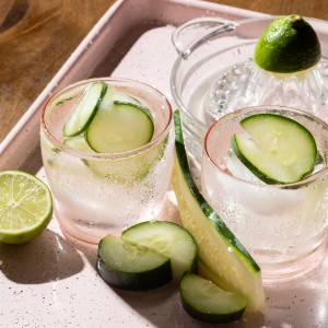 Cucumber Tequila and Tonic, a twist on the classic gin and tonic