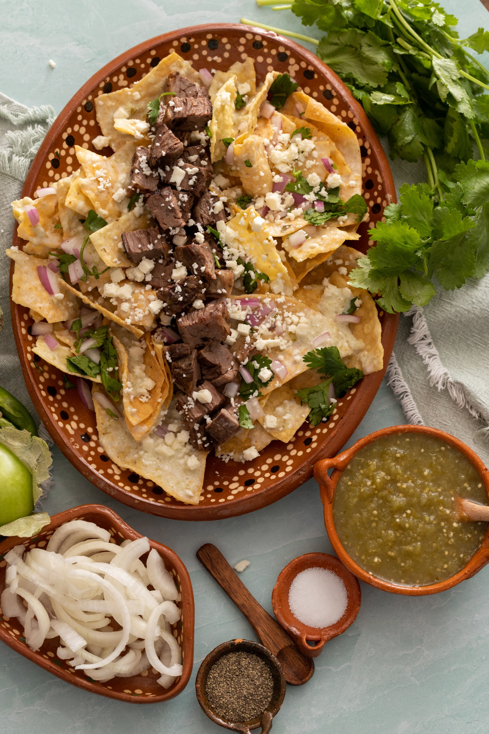 how to cook carne asada chilaquiles at home