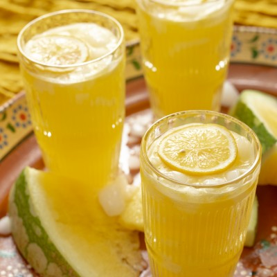 Yellow Watermelon Lemonade {made with Texas Watermelon}