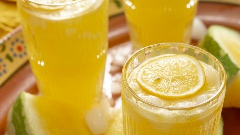 texas yellow watermelon lemonade