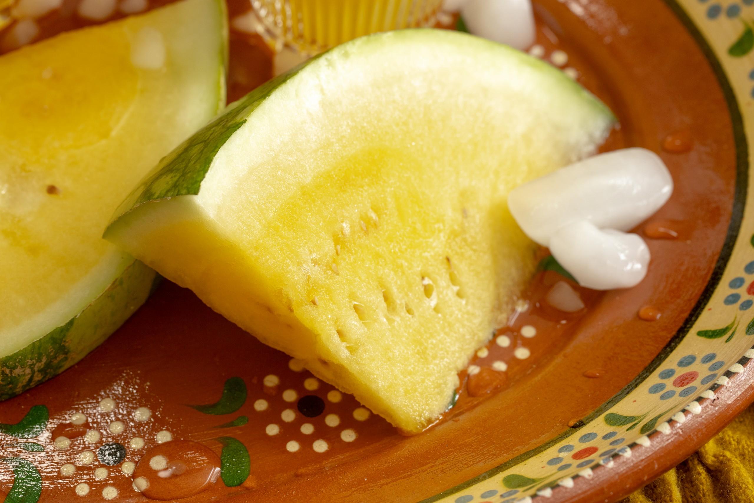 yellow watermelon grown in texas