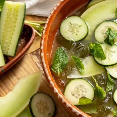 Paloma Verde Cazuela Cocktail {A fun twist on the classic paloma}