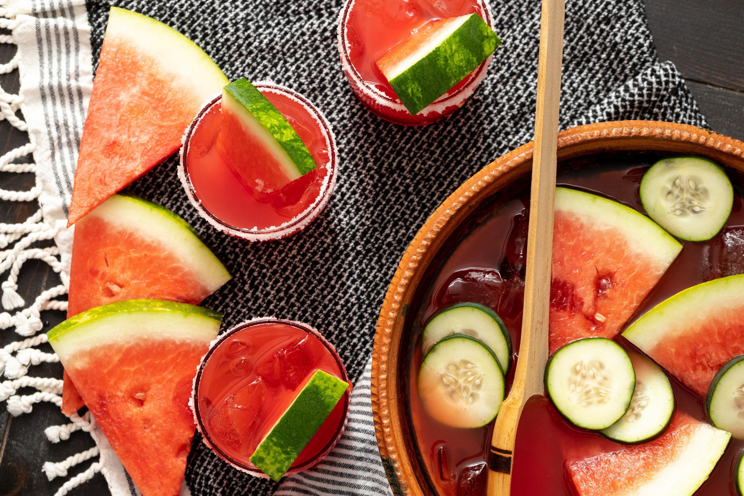 easy fresh fruit juice cocktail recipe
