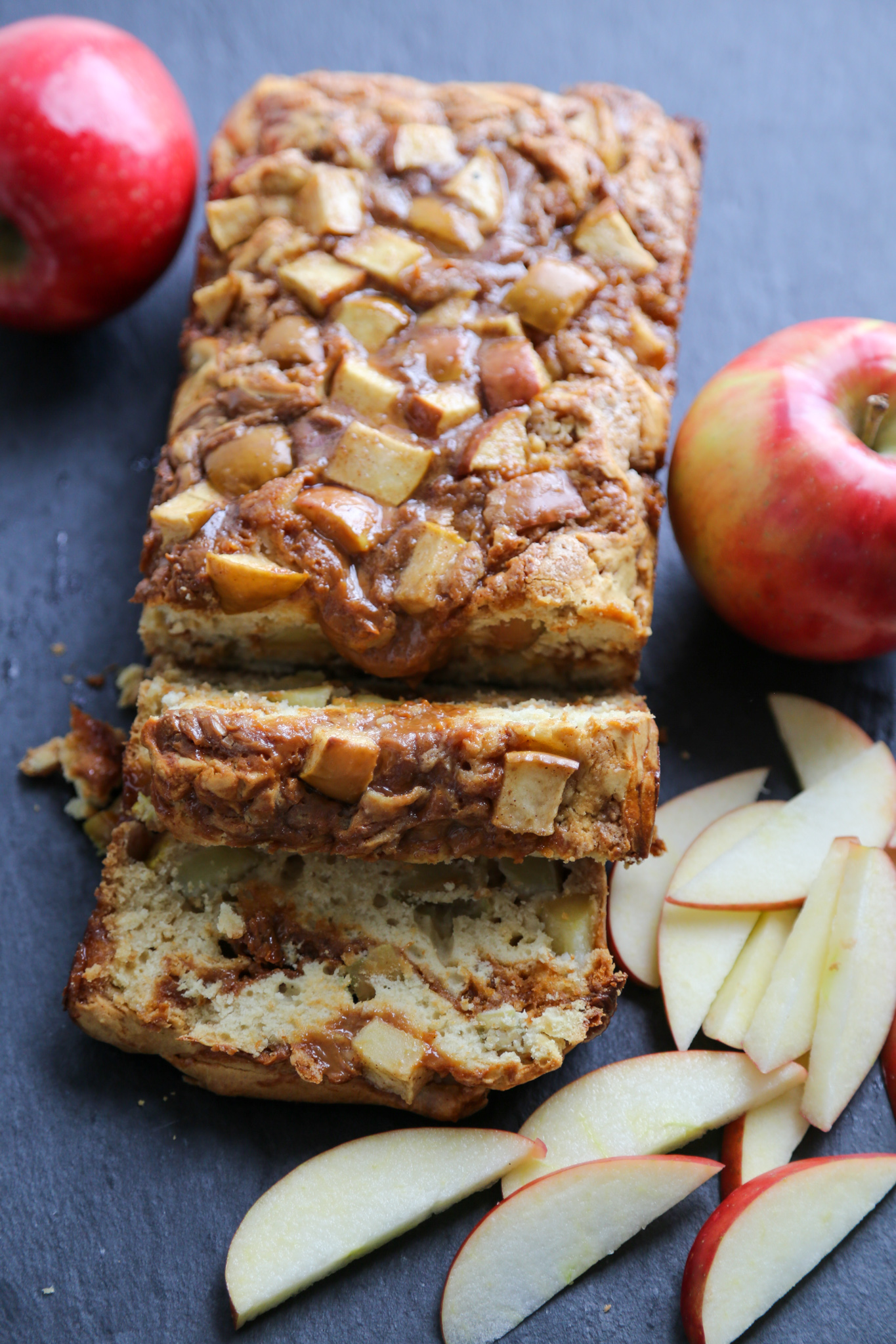 Apple Dulce de Leche Bread {An Easy Quick Bread Recipe}