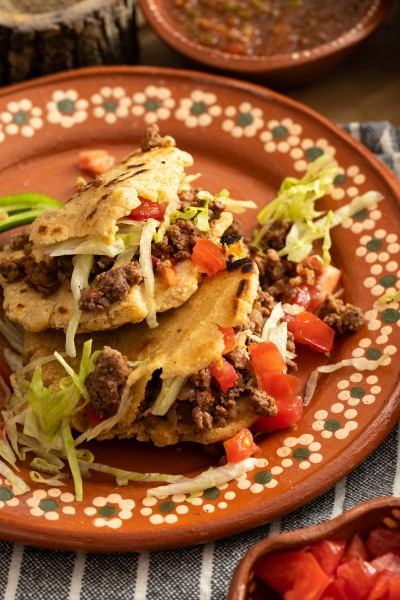 ground beef gordita recipe