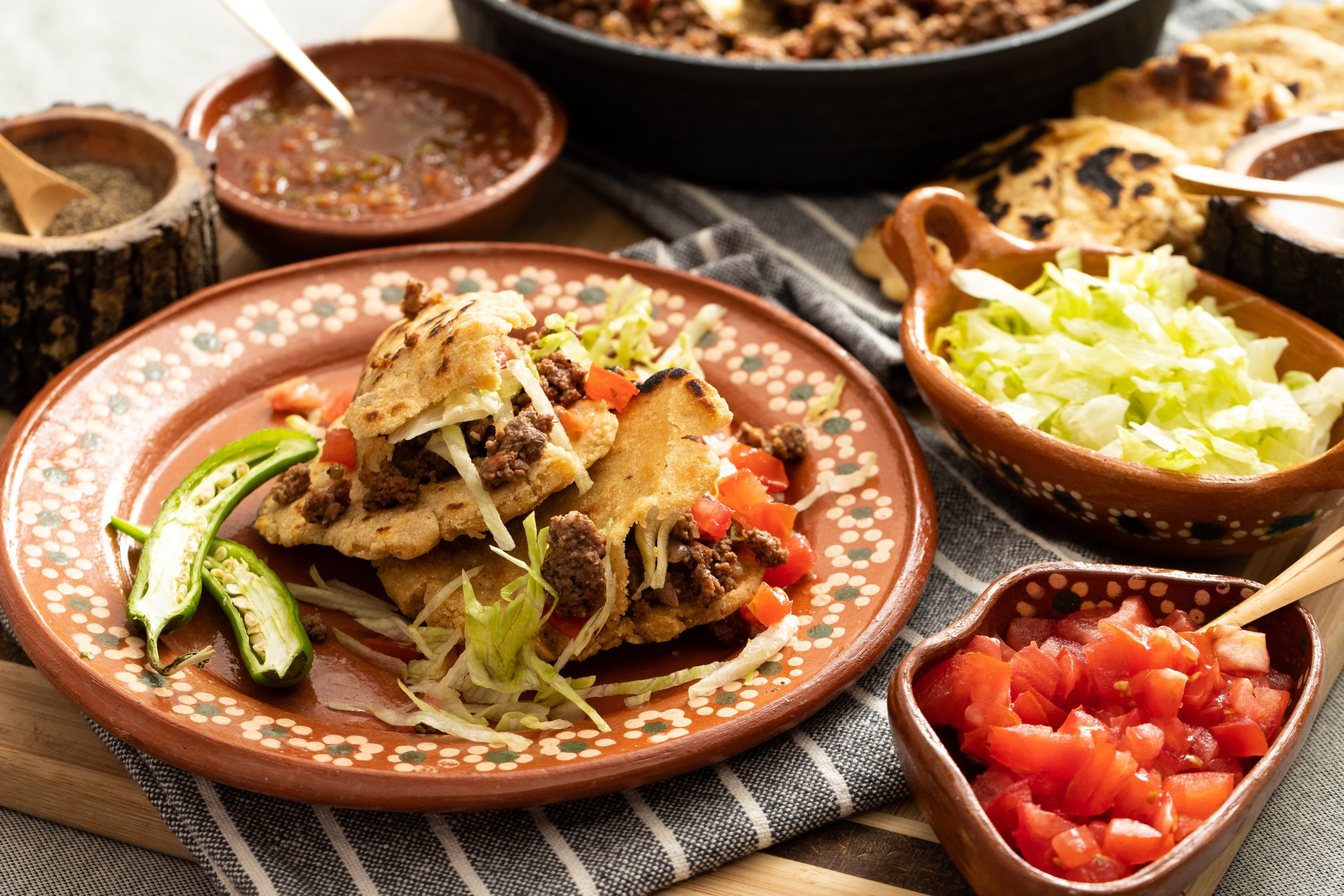 gorditas for dinner