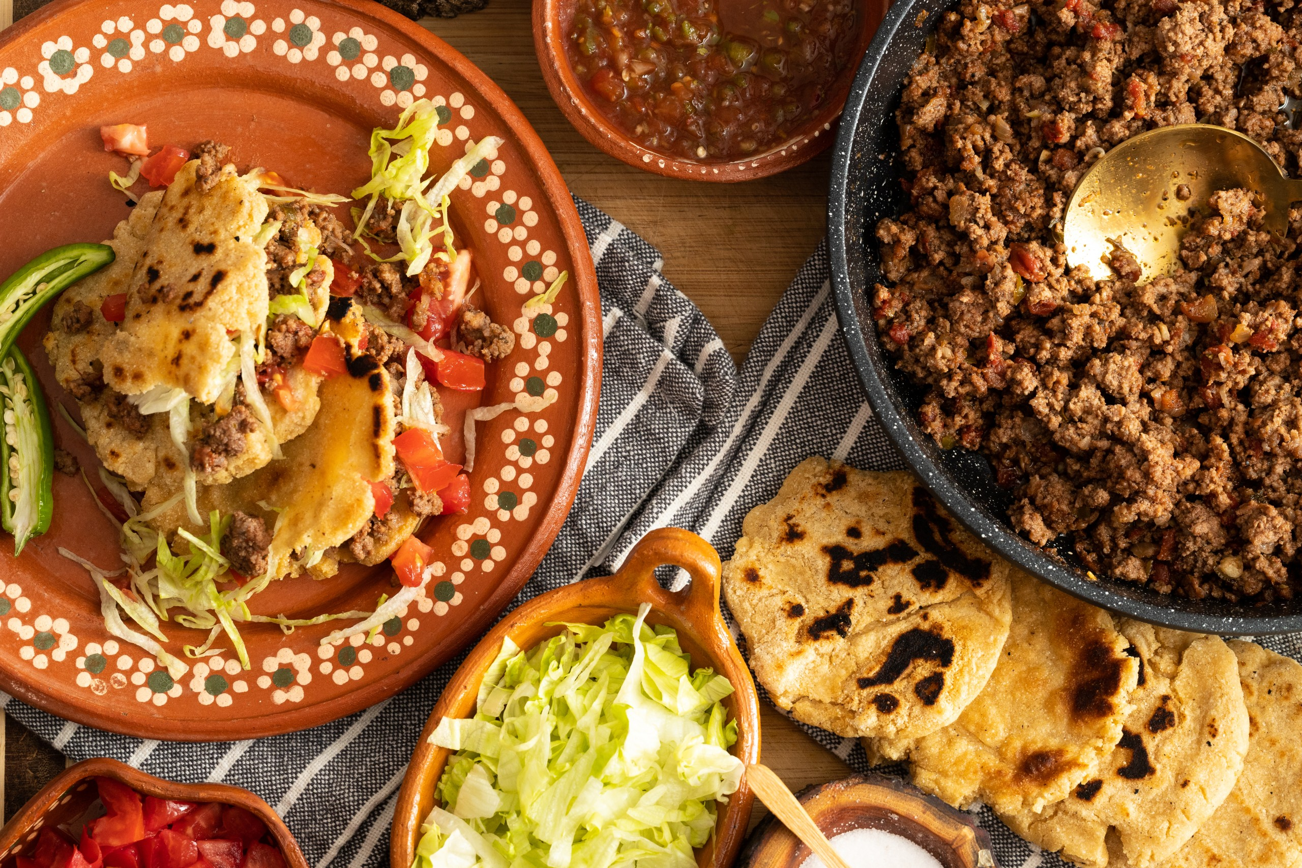 how to make ground beef gorditas