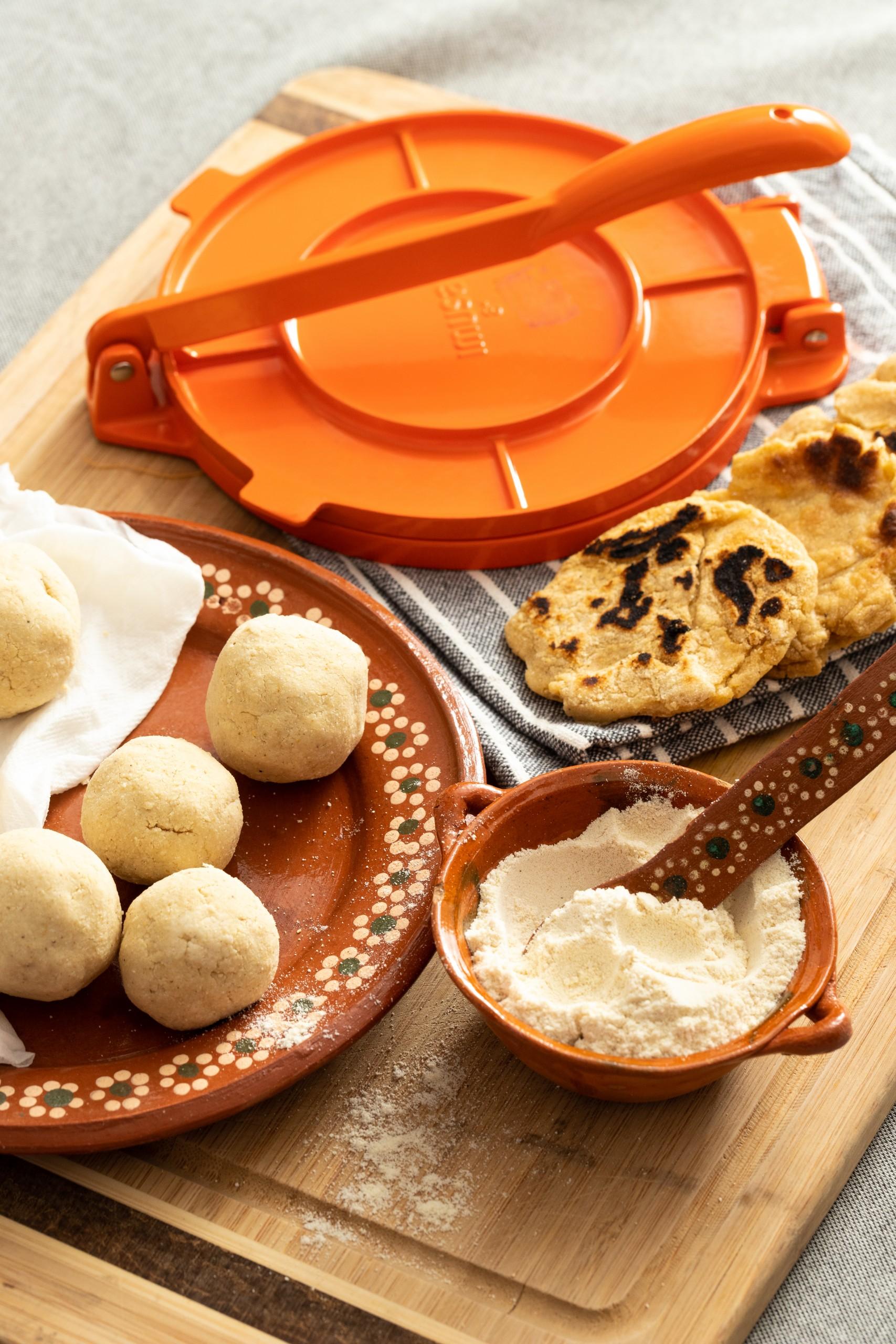 making gorditas using masa harina